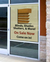 Personal Commercial Window shade