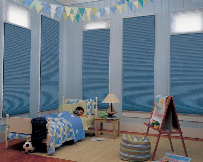 Cellular Shades Kids Room